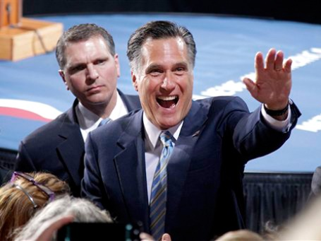 «Продержитесь еще чуть-чуть», — обратился Митт Ромни к своим потенциальным избирателям. Фото: АР