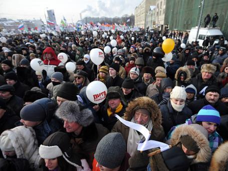 Кто был на Болотной, придет еще. Фото: Григорий Собченко/BFM.ru