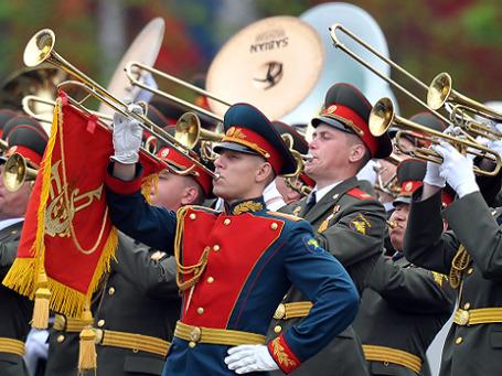 В сводном военном оркестре — более тысячи музыкантов. Фото: РИА Новости