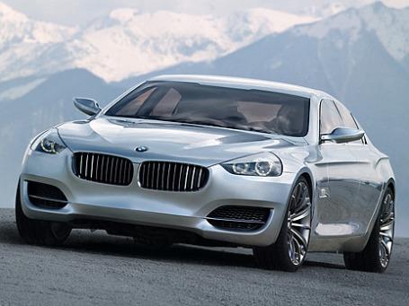 Прообразом «четырехдверного купе» может послужить концепт-кар CS Consept. Фото предоставлено пресс-службой BMW.