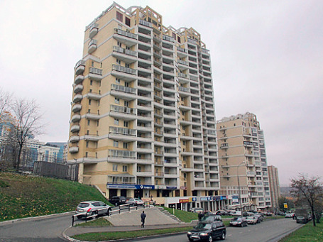 «Депутатский»  дом на улице Улоса Пальме. Фото: ИТАР-ТАСС