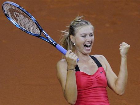Единственная россиянка, включенная журналом Forbes в топ-100 самых влиятельных знаменитостей — теннисистка Мария Шарапова. Фото: АР