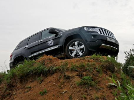 Jeep Grand Cherokee. Фото: Алексей Аксенов/BFM.ru