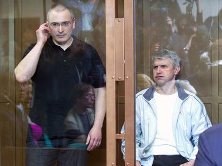 Верховный суд России отклонил надзорную жалобу защиты совладельцев ЮКОСа Михаила Ходорковского и Платона Лебедева.  Фото: РИА Новости