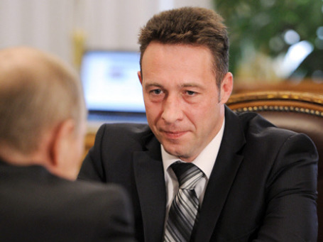 Глава государства предложил Игорю Холманских стать полпредом  в Уральском федеральном округе. Фото: РИА Новости