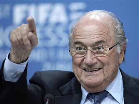 Президент ФИФА Зепп Блаттер. Фото: AP