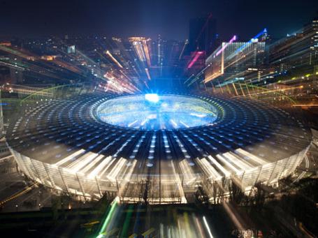 На стадионе «Олимпийский» в Киеве пройдут четыре матча и финал Евро-2012. Фото: РИА Новости