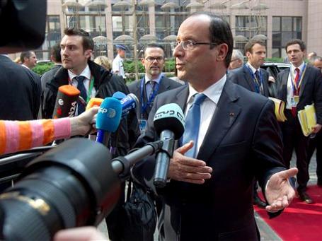 Президент Франсуа Олланд сократил себе зарплату на 30%. Теперь хочет еще больше урезать доходы глав госкорпораций. Фото: АР