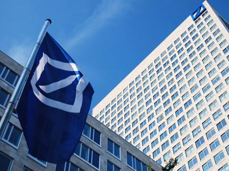 Передача эстафетной палочки в руководстве Deutsche Bank прошла далеко не так гладко, как предполагалось. Фото: Deutsche Bank/flickr.com