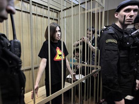 Участница группы Pussy Riot Надежда Толоконникова. Фото: РИА Новости