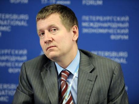 Генеральный директор «Объединенной зерновой компании» Сергей Левин. Фото: ИТАР-ТАСС