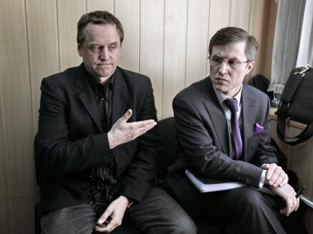 Андрей Соколов (слева) со своим адвокатом. Фото: РИА Новости