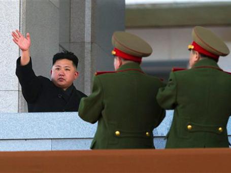Ким Чен Ын начинает строить северокорейских генералов. Фото: AP
