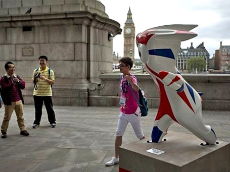 Лондон  считают самым интернациональным городом мира. Фото: АР
