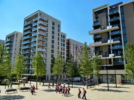 Олимпийская деревня в Лондоне. Фото: РИА Новости