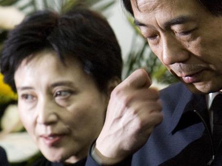 Еще недавно Гу мечтала стать первой леди Китая, а теперь ее муж Бо в опале, а саму ее судят за убийство. Фото: АР