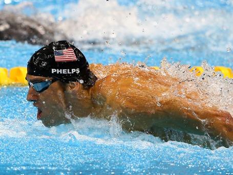 В лондонском бассейне Майкл Фелпс завоевал 22-ую олимпийскую медаль в своей карьере. Фото: an honorable german/ flickr.com