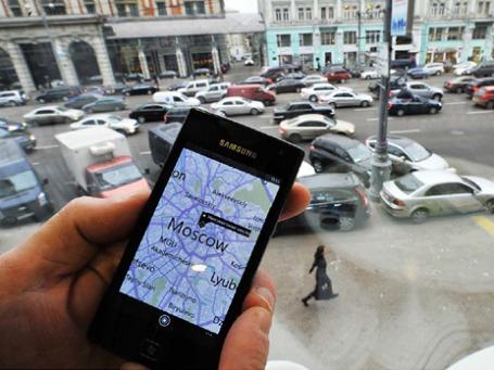 Добраться из точки А в точку Б в Москве должны помогать современные указатели, а также QR-коды. Фото предоставлено международным мультимедийным пресс-центром РИА Новости