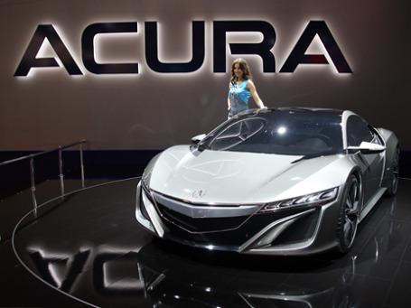 Acura NSX. Фото: Алексей Асенов/BFM.ru