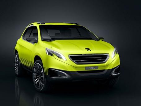 Peugeot 2008. Фото предоставлено компанией Peugeot