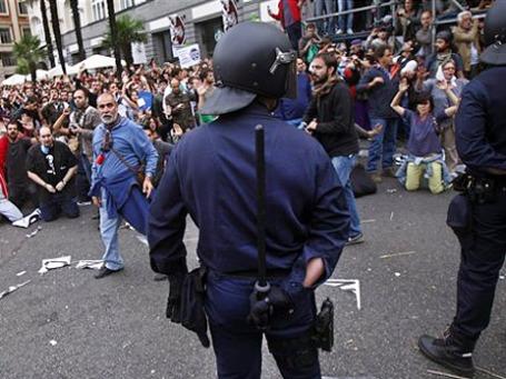 Демонстранты считают меры жесткой экономии антидемократическими. Фото: АР
