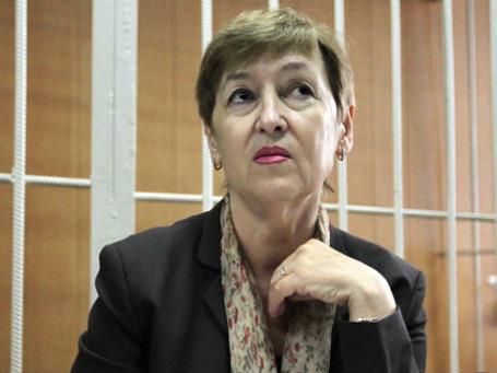 Наталья Магнитская в Тверском суде Москвы. Фото: РИА Новости