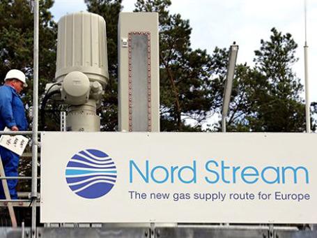 За  первый год работы первой нитки «Северного потока» ее загруженность составляла примерно 30-40 максимальной мощности. Фото: АР