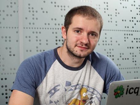 Руководитель подразделения Instant Messaging в Mail.ru Group Игорь Ермаков. Фото предоставлено компанией Mail.ru