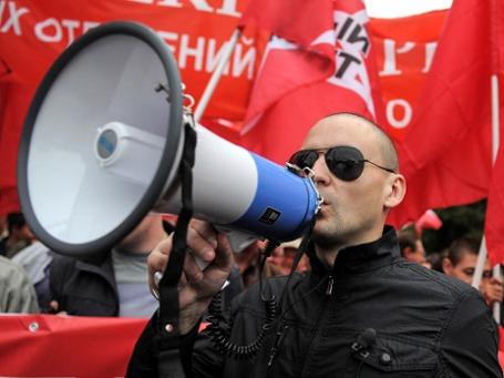 Авторы фильма «Анатомия протеста-2» обвиняют Удальцова в сговоре с организаторами оранжевой революции. Фото: РИА Новости