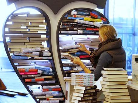 Оборот немецкого книжного рынка достиг в 2011 году почти 10 млрд евро. Фото: АР