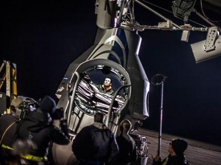 Стратостат, который поднимет Феликса в слои стратосферы, будет запущен с авиабазы Розуэлл в США. Фото: AP
