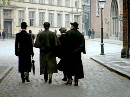 Кадр из фильма «Шерлок Холмс и Доктор Ватсон: знакомство».