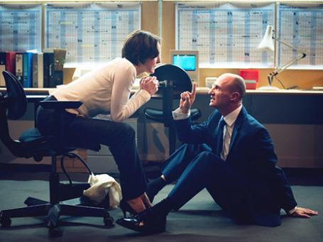 Рсекс с женщиной на работе