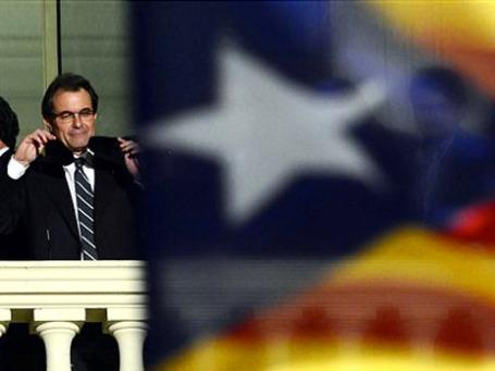 Глава Каталонии Артур Мас. Фото: АР