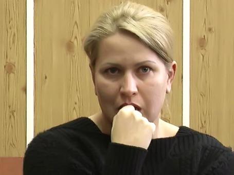 Евгения Васильева в Хамовническом суде города Москвы. Фото предоставлено пресс-службой Мосгорсуда