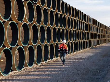 Недавно «Газпром» завершил строительство второй ветки «Северного потока», однако даже первая нитка загружена сегодня не полностью. Фото: nord-stream.com