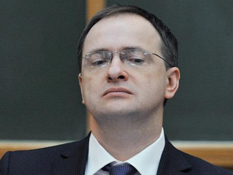 Министр культуры РФ Владимир Мединский. Фото: РИА Новости