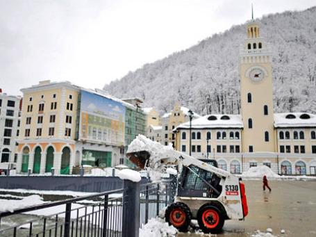 Опасения, что снега будет мало, не сбылись. Фото: РИА Новости