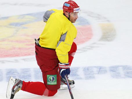 Илья Ковальчук на тренировке. Фото: РИА Новости