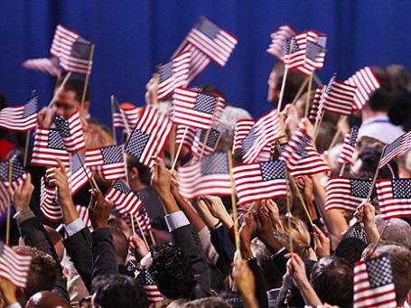 Сторонники Барака Обамы радуются его победе на выборах президента США в ноябре 2012 года. Фото: Reuters