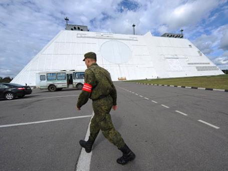 Радиолокационная станции системы противоракетной обороны «Дон-2Н» в Московской области. Фото: РИА Новости