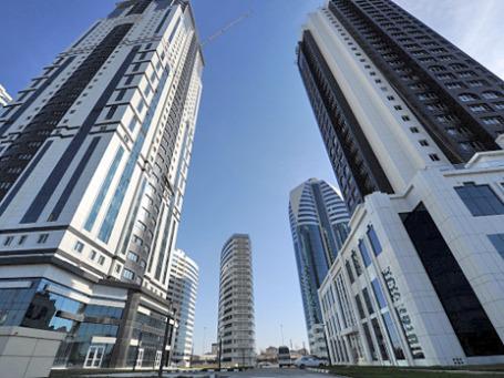 Комплекс высотных зданий «Грозный Сити» в Грозном. Фото: РИА Новости