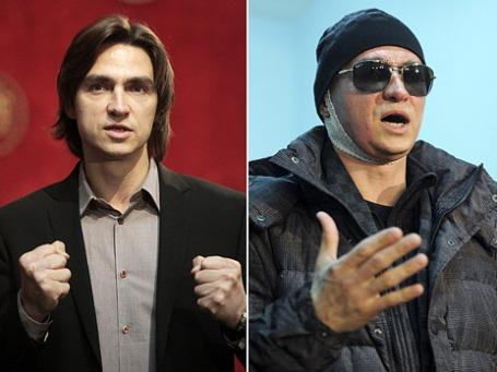 Сергей Филин до  и после нападения. Фото: Reuters