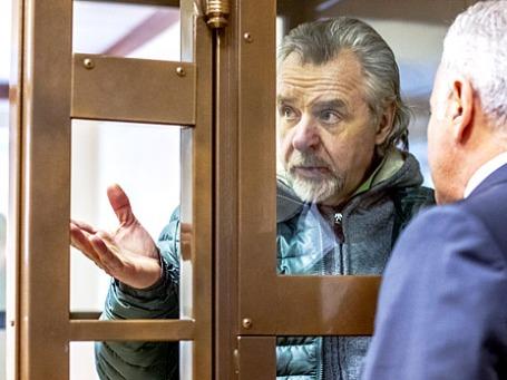 Бывший первый заместитель прокурора Подмосковья Александр Игнатенко в Мосгорсуде. Фото: РИА Новости