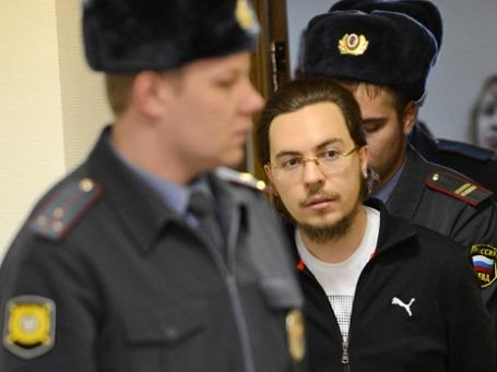 Иеромонах Илия (Павел Семин) в Дорогомиловском суде. Фото: РИА Новости