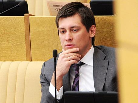 Дмитрий Гудков на пленарном заседании Государственной Думы РФ. Фото: РИА Новости