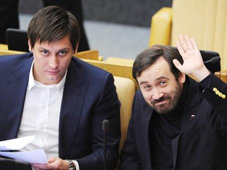 Дмитрий Гудков (слева) и Илья Пономарев. Фото: РИА Новости