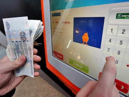 Платежный терминал Qiwi. Фото: РИА Новости