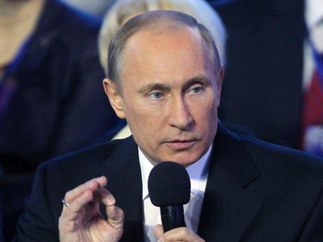 Президент России Владимир Путин. Фото: Reuters