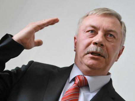 Пебедивший на выборах мэра города Жуковского Андрей Войтюк. Фото: РИА Новости